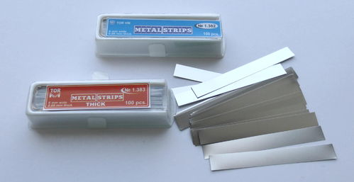 Matrizenstreifen / Metal Strips
